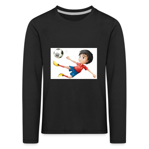Freestyle Kid Cartoon - Kids' Premium Longsleeve Shirt