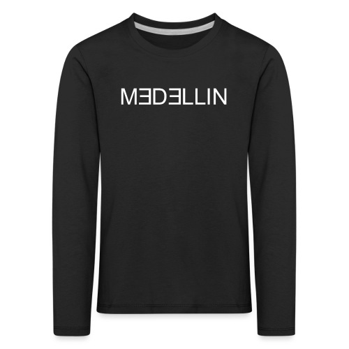 Minimalist - Kinder Premium Langarmshirt