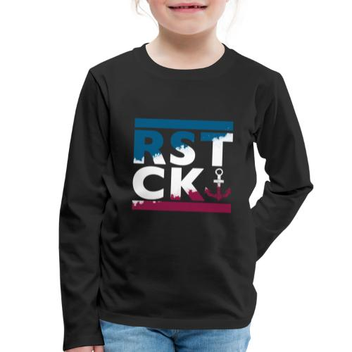 Hansestadt Rostock Anker - Kinder Premium Langarmshirt