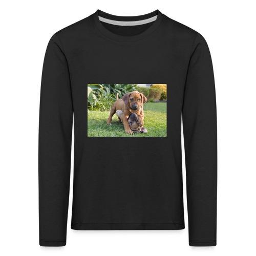 adorable puppies - Kids' Premium Longsleeve Shirt