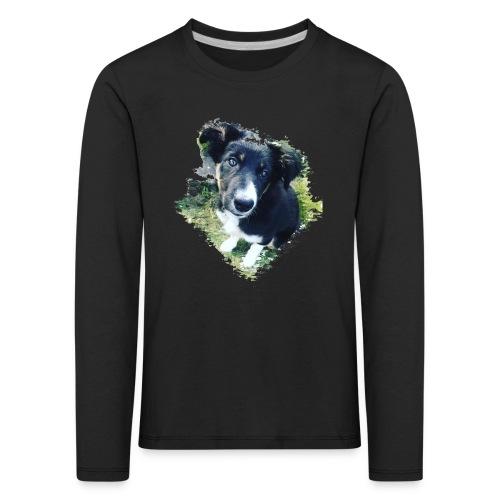 colliegermanshepherdpup - Kids' Premium Longsleeve Shirt