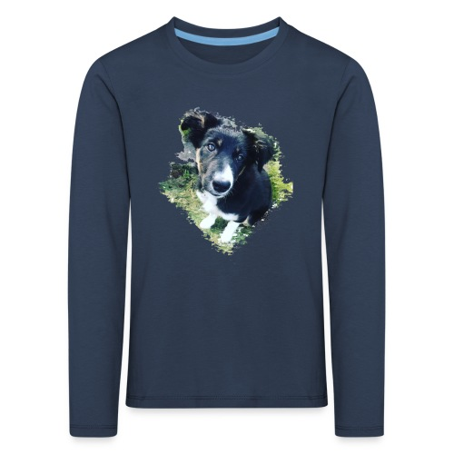 colliegermanshepherdpup - Kids' Premium Longsleeve Shirt