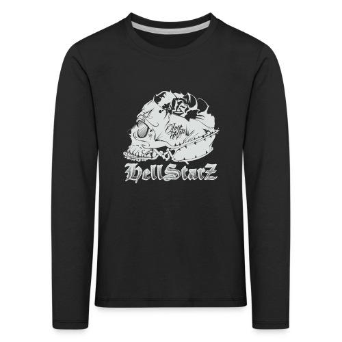 HELLSTARZ Skull Logo - T-shirt manches longues Premium Enfant