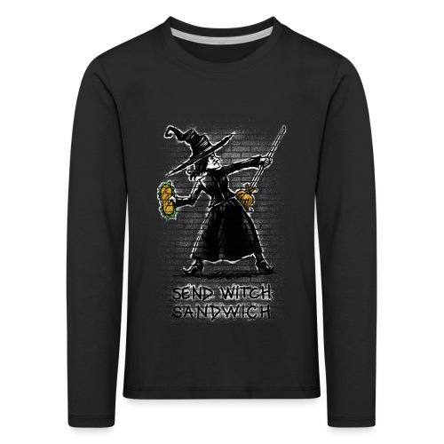 Send Witch Sandwich - Kids' Premium Longsleeve Shirt