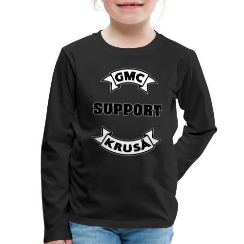 GMC SUPPORT - Børne premium T-shirt med lange ærmer