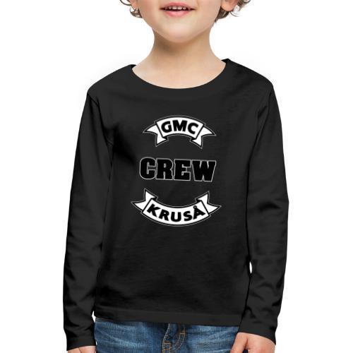 GMC CREWSHIRT - KUN FOR / CREW MEMBERS ONLY - Børne premium T-shirt med lange ærmer