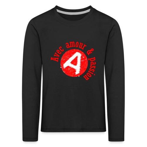 Agapao, - T-shirt manches longues Premium Enfant