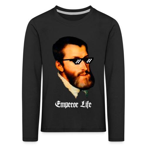 Carlos I y V de Alemania (Emperor Life) - Camiseta de manga larga premium niño