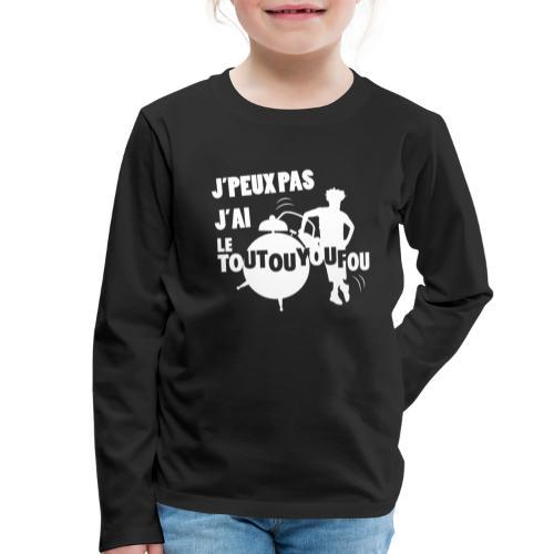 JPEUXPAS BLANC - T-shirt manches longues Premium Enfant