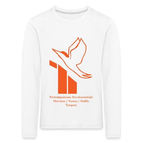 terte paitalogo - Lasten premium pitkähihainen t-paita