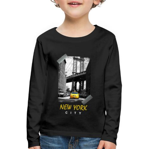 NEW YORK - T-shirt manches longues Premium Enfant