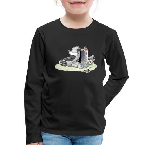 Siesta Time - Premium langermet T-skjorte for barn