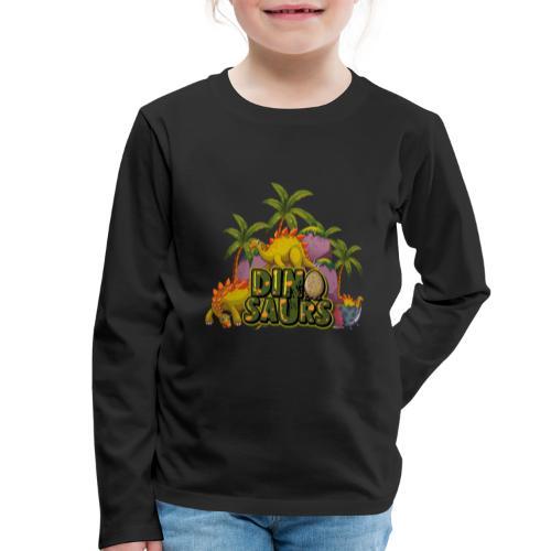 My Dinosaurs - Camiseta de manga larga premium niño