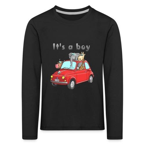 It's a boy - Baby - Cartoon - lustig - Kinder Premium Langarmshirt