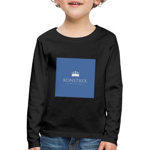 konstrex - Børne premium T-shirt med lange ærmer
