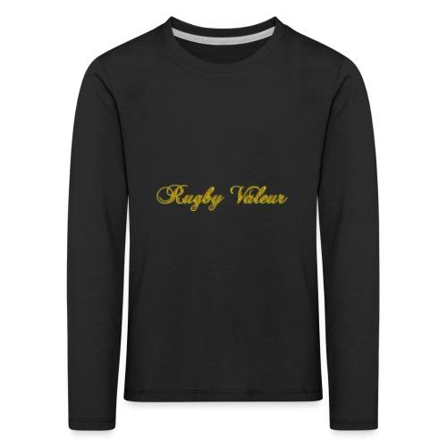 Rugby valeur 🏈 - T-shirt manches longues Premium Enfant