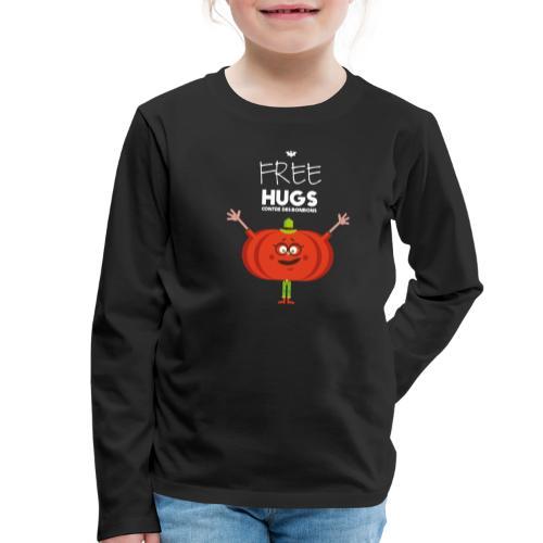 FREE HUGS - T-shirt manches longues Premium Enfant