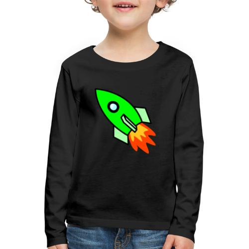 neon green - Kids' Premium Longsleeve Shirt