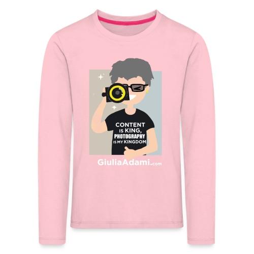 Giulia Adami - Maglietta Premium a manica lunga per bambini