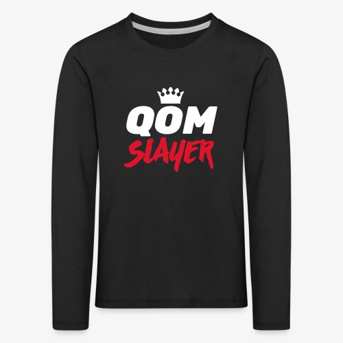 queen of the mountain slayer - Kids' Premium Longsleeve Shirt