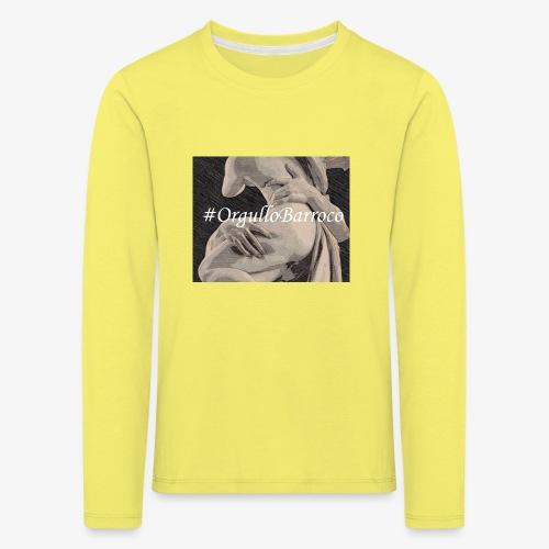 #OrgulloBarroco Proserpina - Camiseta de manga larga premium niño