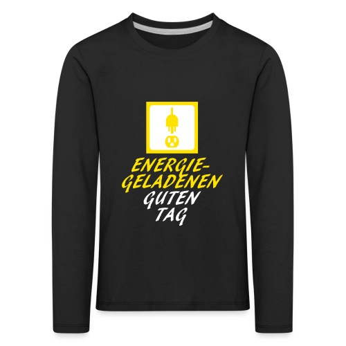 DieSteckdoze - Kinder Premium Langarmshirt