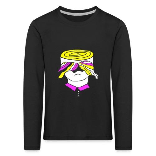 Psy-stache - Kinderen Premium shirt met lange mouwen