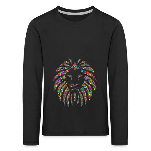 Ausdruck des Löwen - Kinder Premium Langarmshirt