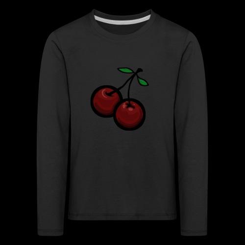 CHERRIES - Kinderen Premium shirt met lange mouwen