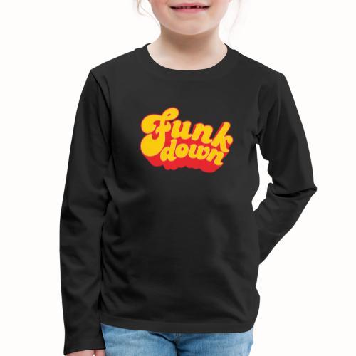 Funkdown Official Merchandise - Børne premium T-shirt med lange ærmer