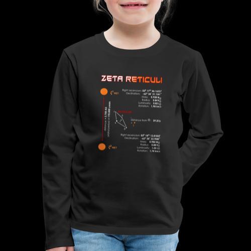 Zeta Reticuli - Kinder Premium Langarmshirt