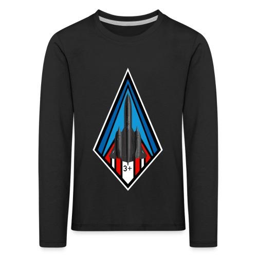SR-71 Blackbird - T-shirt manches longues Premium Enfant