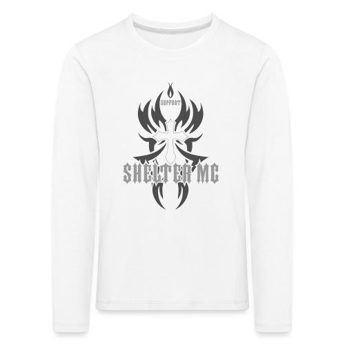 Support Shelter MC - Premium langermet T-skjorte for barn