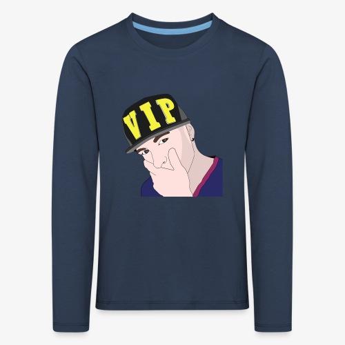 boy-1297746_960_720 - Børne premium T-shirt med lange ærmer