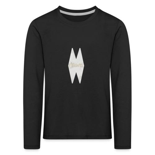 MELWILL white - Kids' Premium Longsleeve Shirt