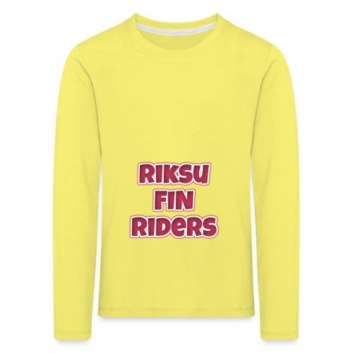 RFR - Lasten premium pitkähihainen t-paita