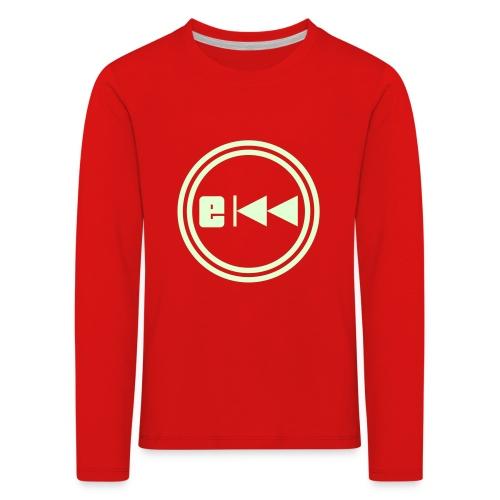 Evo-Kreis-E - Kinder Premium Langarmshirt