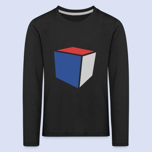 Cube Minimaliste - T-shirt manches longues Premium Enfant