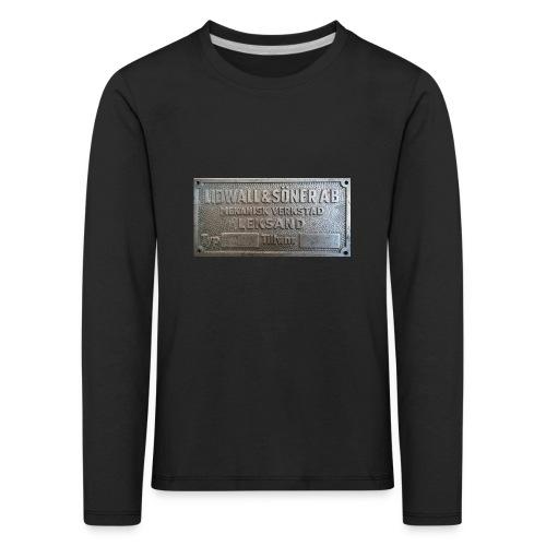 Tillverkningsskylt före 1967 - Långärmad premium-T-shirt barn
