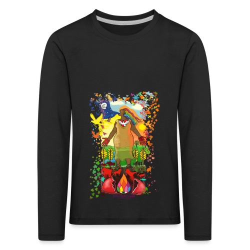 Mother Earth Creating - Kinderen Premium shirt met lange mouwen