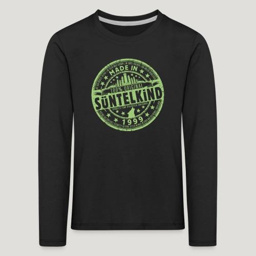 SÜNTELKIND 1999 - Das Süntel Shirt mit Süntelturm - Kinder Premium Langarmshirt