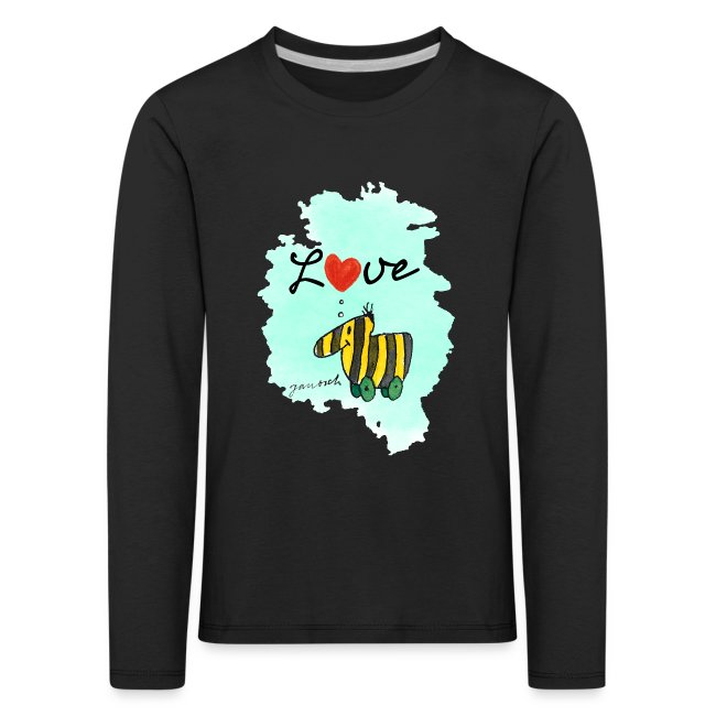 Janosch Tigerente Love Türkis SP