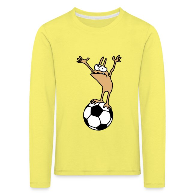 Kobold mit Fußball