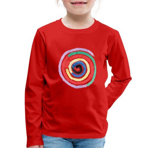 Spirale - Kinder Premium Langarmshirt