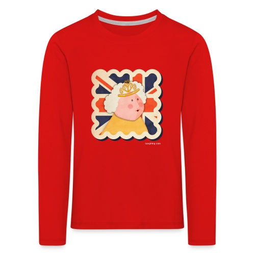 The Queen - Kids' Premium Longsleeve Shirt