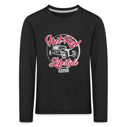 Hot-Rod Lifestyle 3 - T-shirt manches longues Premium Enfant