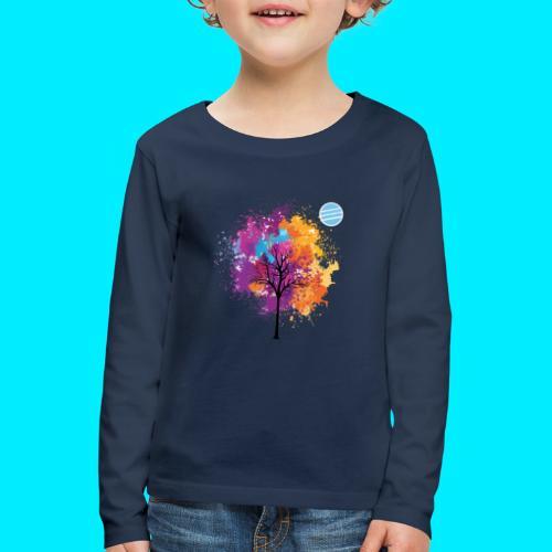 LOGO AUTUNNO BANCOMATTI - Maglietta Premium a manica lunga per bambini
