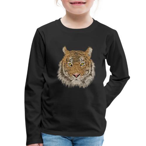 Tiger - Kinder Premium Langarmshirt