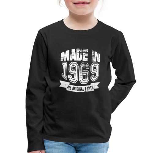 Made in 1969 - Camiseta de manga larga premium niño
