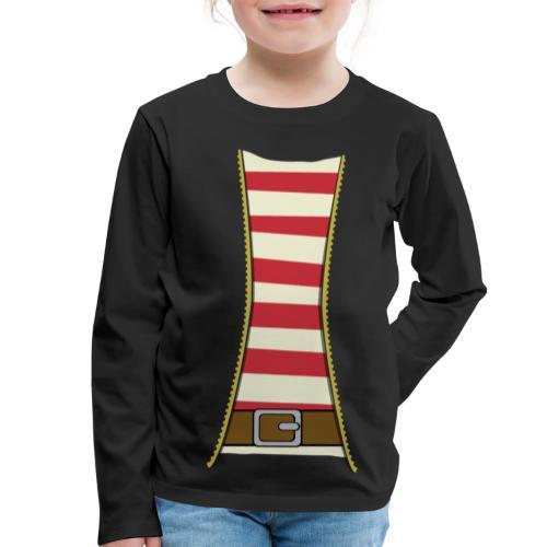 Pirate costume - Kids' Premium Longsleeve Shirt